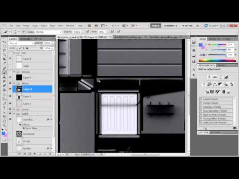 3DS Max & Photoshop game asset workflow - texturing
