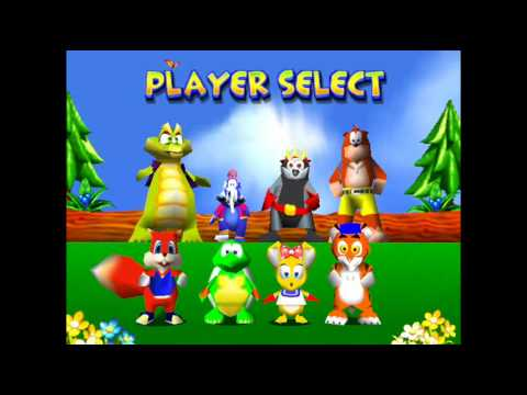 Diddy Kong Racing-Beta and Unused Character Select Theme ...