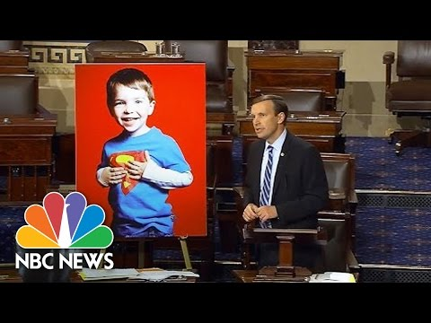 Senator Ends Filibuster With Reminder Of Sandy Hook Teacher