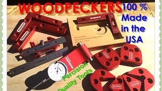 Woodpeckers Tool Review, My growing collection