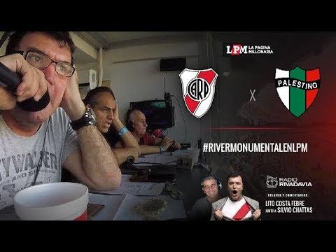 EN VIVO - Palestino vs. River - Fecha 5 - Copa Libertadores 2019