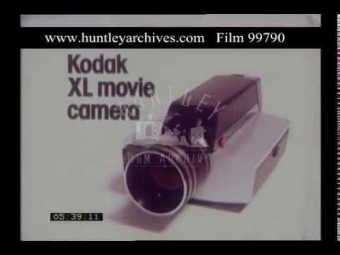 Kodak XL Movie Camera Advert, 1970s - Film 99790