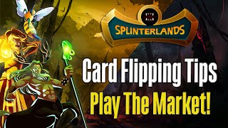 How I Made Tęns of Thousands of Dollars Flipping Cards in Splinterlands!