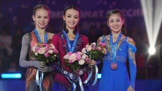 Skating Awards 2021 Щербакова Трусова Валиева Косторная