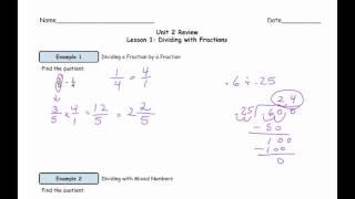 U6-2 L1 Video Lesson