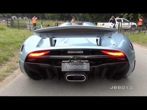 Koenigsegg Regera SOUND – Loud Startups and Driving!!