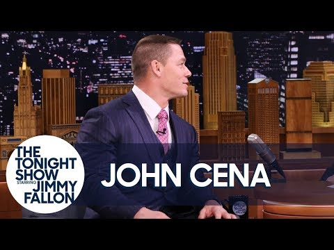 John Cena Shares a Special Message in Mandarin Chinese