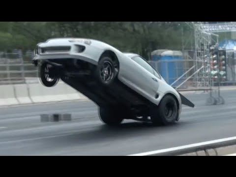Toyota Supra 2016 >> 8 Second Supra HUGE Wheelie! - YouTube