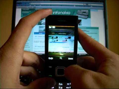 Funkcje aparatu w Nokia 5330TV Mobile Edition. InfoNokia.pl
