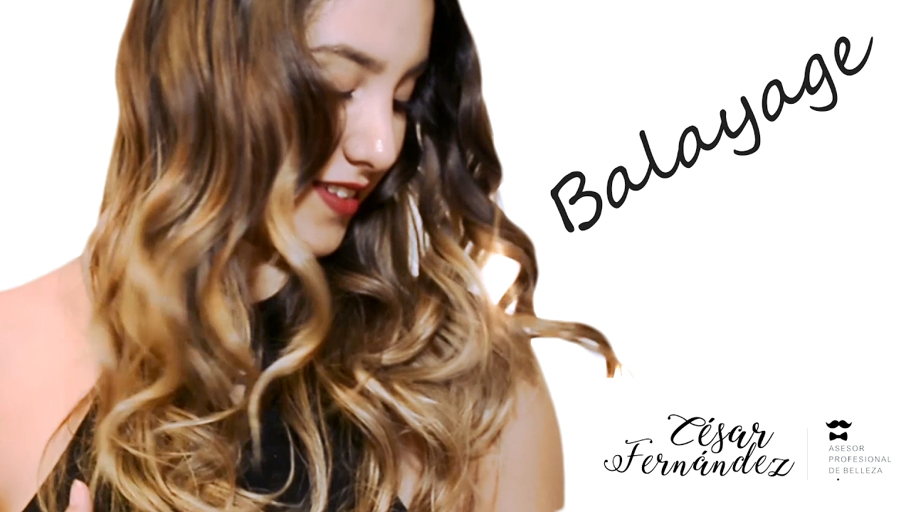 Balayage Wicks Technique , César Fernández