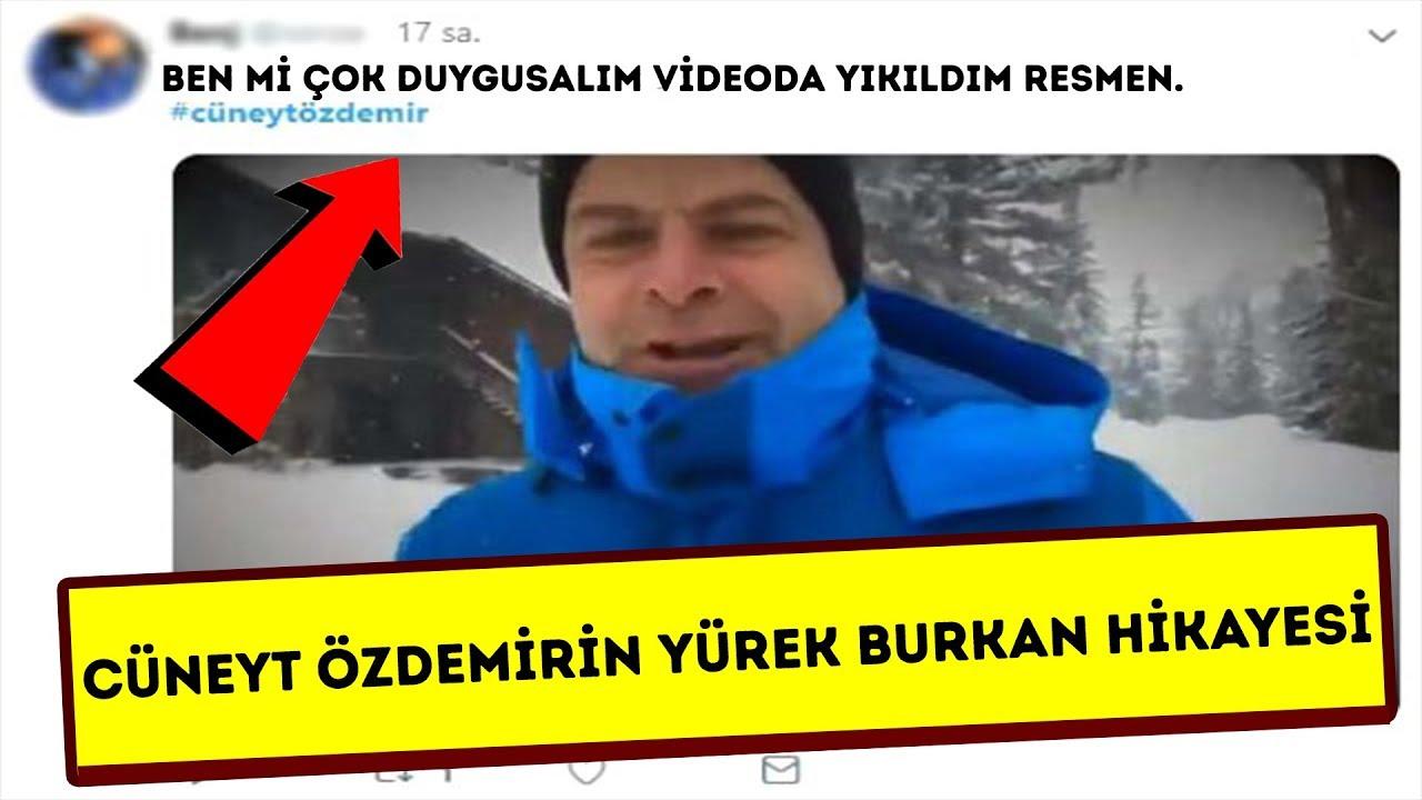 Cüneyt Özdemir'in Karlı Aşk Hikayesi Türkiyeyi Sarstı! İzleyen Ağlıyor
