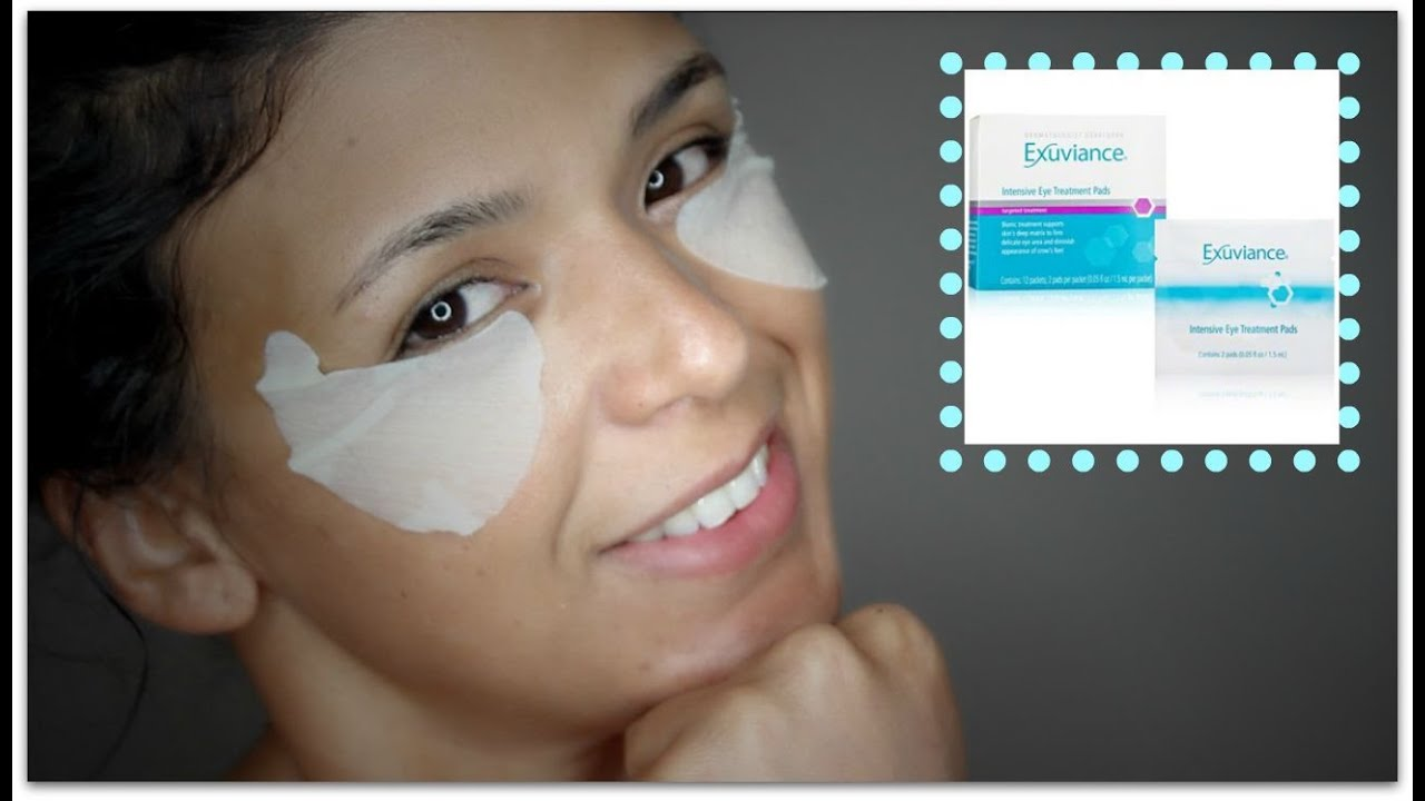 exuviance eye pads