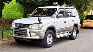 2001 Toyota Land Cruiser Prado 5-speed Manual Turbo Diesel (Canada Import) Japan Purchase Review