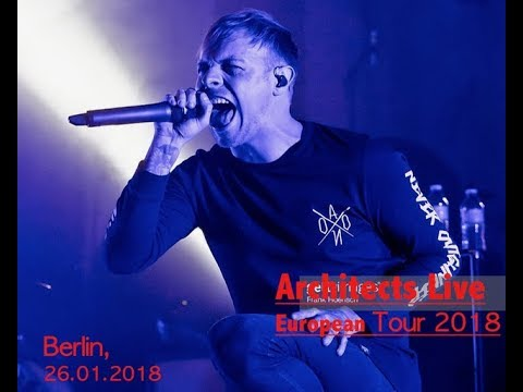 Architects - Doomsday - Live Berlin (26.01.2018)