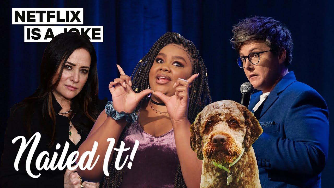 Hannah Gadsby x Pamela Adlon Do a Nailed It! Challenge | Netflix Is A Joke