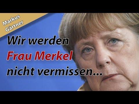 """""""Sie hinterlässt eine entkernte Partei."""" Markus Gärtner am 31.10. über den Abgang von Angela Merkel"""