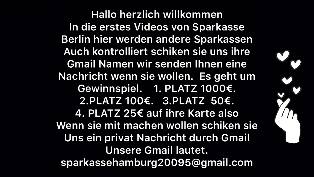 Berliner Sparkasse Gewinnspiel