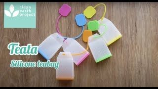 Teata reusable silicone tea bags