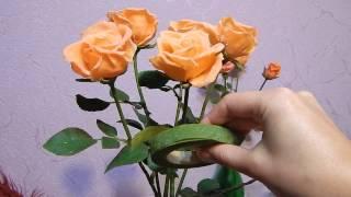 Советы по лепке розы из холодного фарфора(Несколько советов по лепке из холодного фарфора цветка розы, и несколько общих советов. Подробный мастер..., 2014-11-14T15:15:01.000Z)