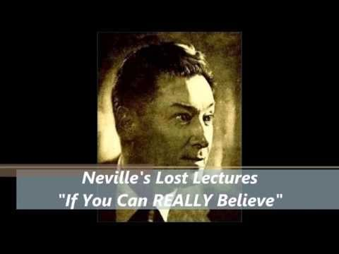 Neville- If You Can REALLY Believe