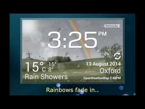 CliMate Animated Weather Widget