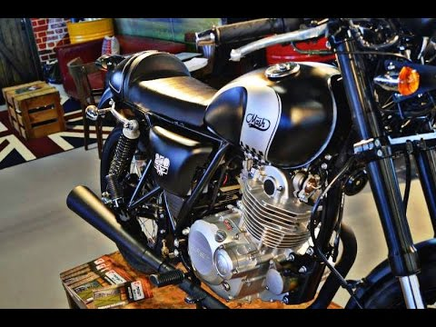 mash 250 cafe racer youtube. Black Bedroom Furniture Sets. Home Design Ideas