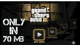 Download GTA 3 in android/iso in 70 mb