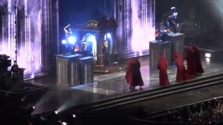 MADONNA - Prayer Ouverture  + Girl gone wild + Revolver - live Paris  2012