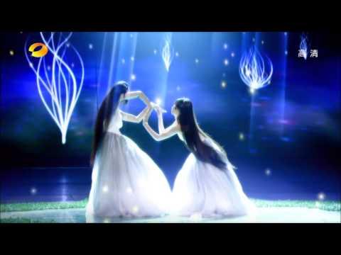 Famous long hair dancer Yang Liping and her niece Wei Caiqi