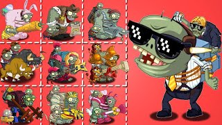Head Office Gargantuar & Gaŗimp Legal VS All Gargantuars & Imp Zombie