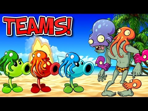 Plants vs. Zombies 2 OCTO ZOMBIE vs Team Plants PART 1 ✔