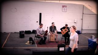 """Aurora Borealis"" - By John Clarke - Street Performance with trio"