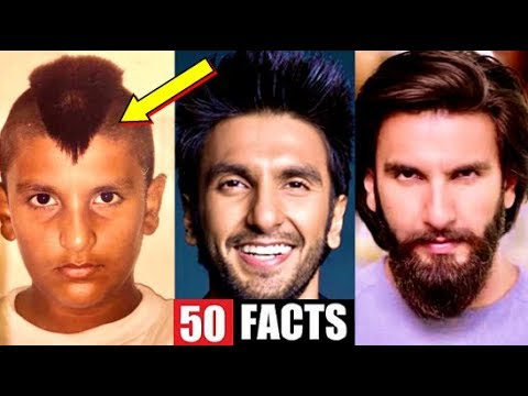 50 Facts You Didn't Know About Ranveer Singh