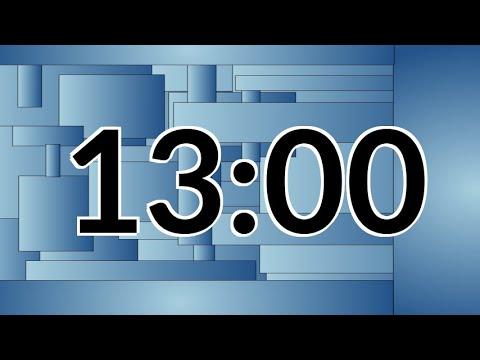 Alarmed 13 Minute Timer