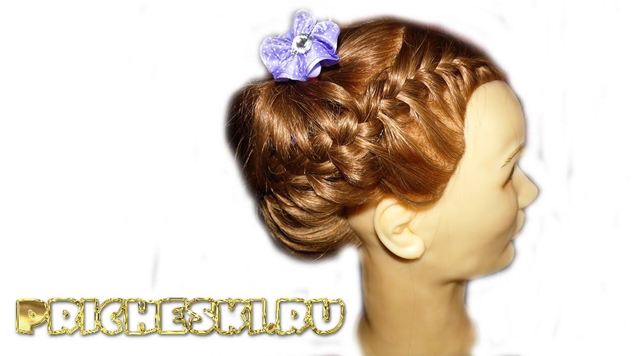 Прически для девочек.плетение кос 87