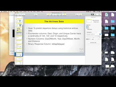 Intro to R, Python, Flow at H2O World 2015 - Amy Wang