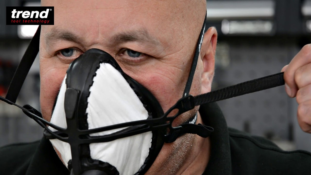 trend air stealth half mask respirator