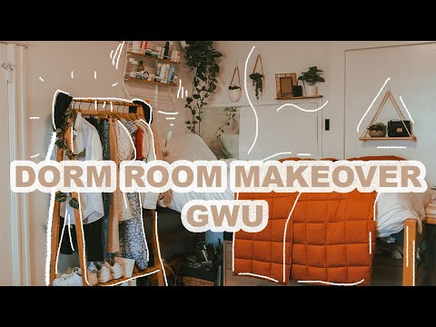 Dorm Room Makeover | George Washington University