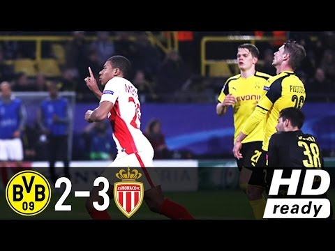 Résumé du Match : Dortmund 2-3 AS Monaco, 12/04/17 Champions League