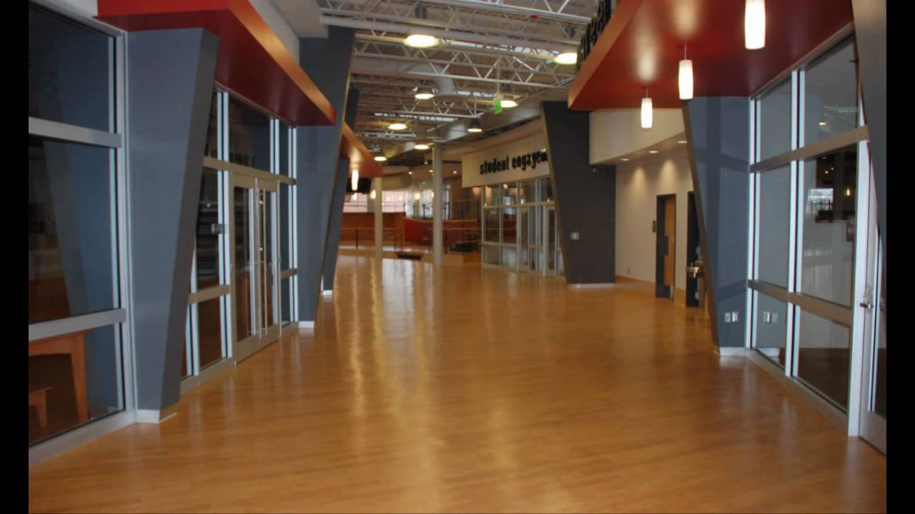 The inside of the Student Center