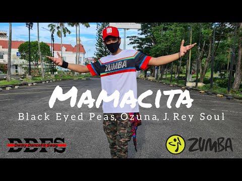Black Eyed Peas Ozuna J Rey Soul - MAMACITA  ZUMBA  FITNESS  At Balikpapan