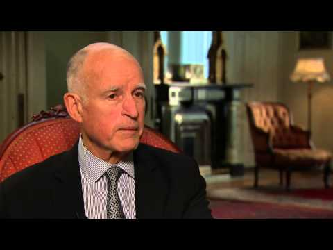 CA Gov. Jerry Brown Interview: Regulations and Taxes