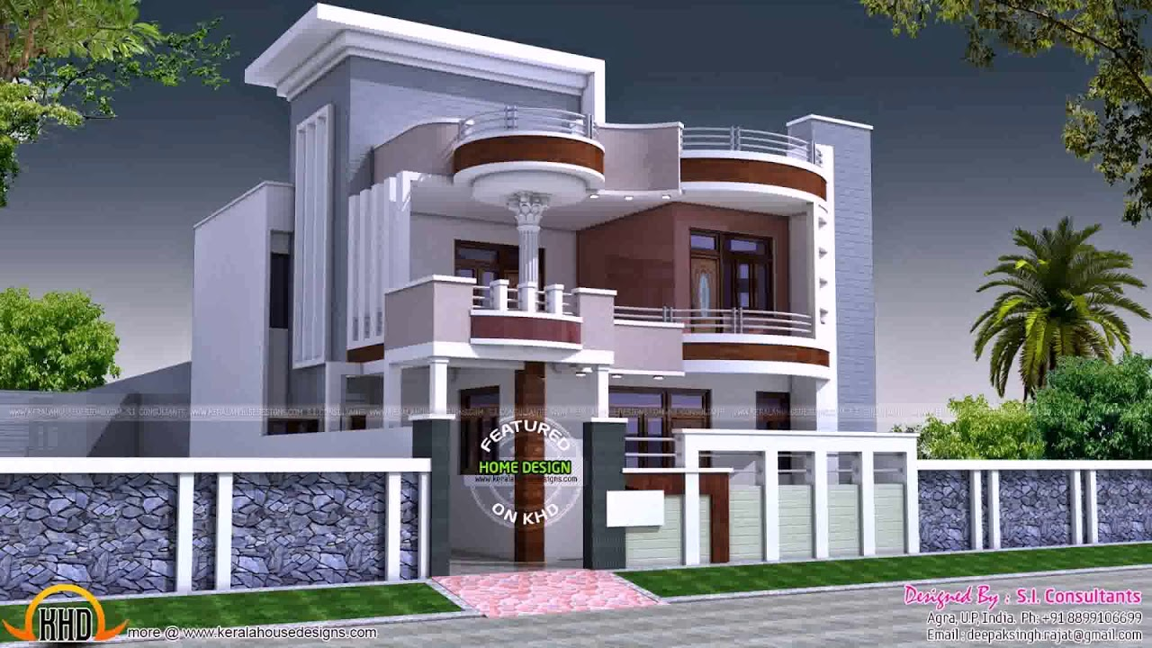 House design in 60 gaj youtube for Free architecture design for home in india