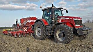 Siew pasowy Buraków ☆ Massey Ferguson Dyna VT 8690 & Czajkowski ST 400