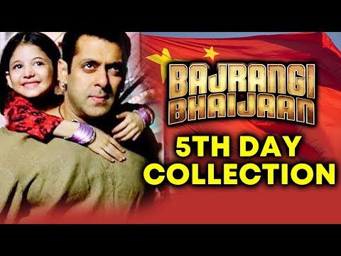 Salman's Bajrangi Bhaijaan In CHINA | 5th Day Box Office Collection | SOLID TRENDING