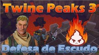 Defesa de Escudo Twine Peaks 3 Gameplay / SSD 3 Twine Peaks - Fortnite Salve o Mundo