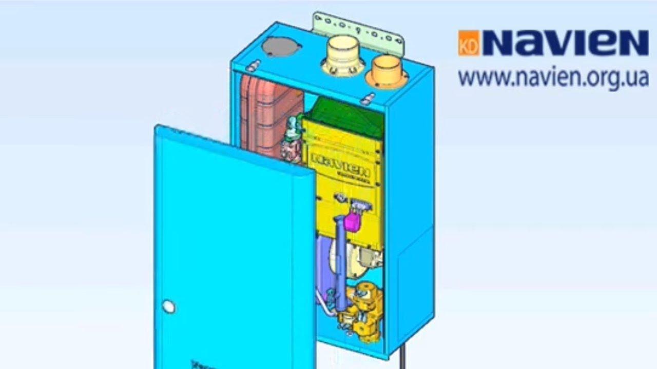 Демонтаж, замена и ремонт вентилятора в сборе на котле NAVIEN ACE Turbo