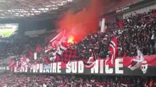 Ultras Populaire Sud - OGC Nice vs. AS Saint-Etienne dec 2014