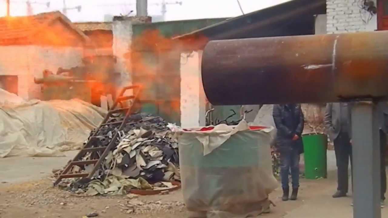 Plastic Gasifier Burner Polyester Waste Gasifier For