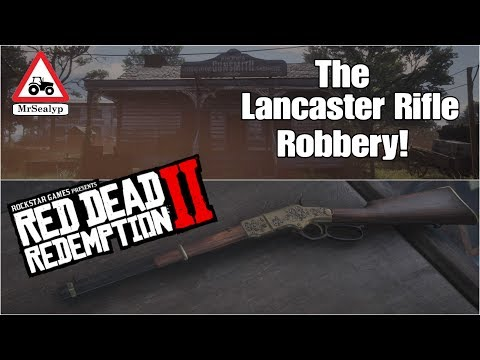 Red Dead Redemption 2 (The Lancaster Rifle Robbery!). Rockstar Games.